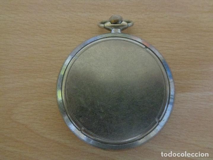 Relojes de bolsillo: Antiguo Reloj de Bolsillo Aurore Antichoc - Funcionando - Foto 3 - 195134007