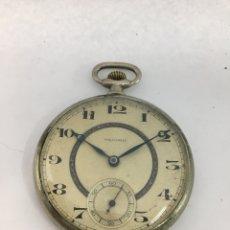 Relojes de bolsillo: RELOJ DE BOLSILLO RÉCORD CARGA MANUAL MAQUINARIA ORIGINAL SWISS MADE. Lote 195135095