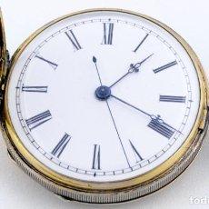 Relojes de bolsillo: RELOJ SUIZO DE BOLSILLO, SABONETA. CA. 1850.. Lote 195162070
