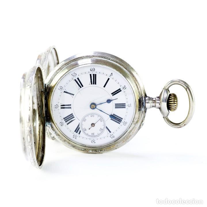ROBERT. RELOJ DE BOLSILLO, SABONETA Y REMONTOIR. SUIZA, CA. 1825 (Relojes - Bolsillo Carga Manual)