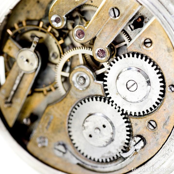 Relojes de bolsillo: ROBERT. Reloj de bolsillo, saboneta y remontoir. Suiza, ca. 1825 - Foto 2 - 195162336