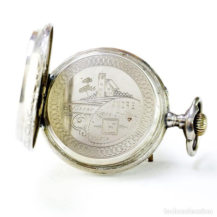 Relojes de bolsillo: ROBERT. Reloj de bolsillo, saboneta y remontoir. Suiza, ca. 1825 - Foto 4 - 195162336