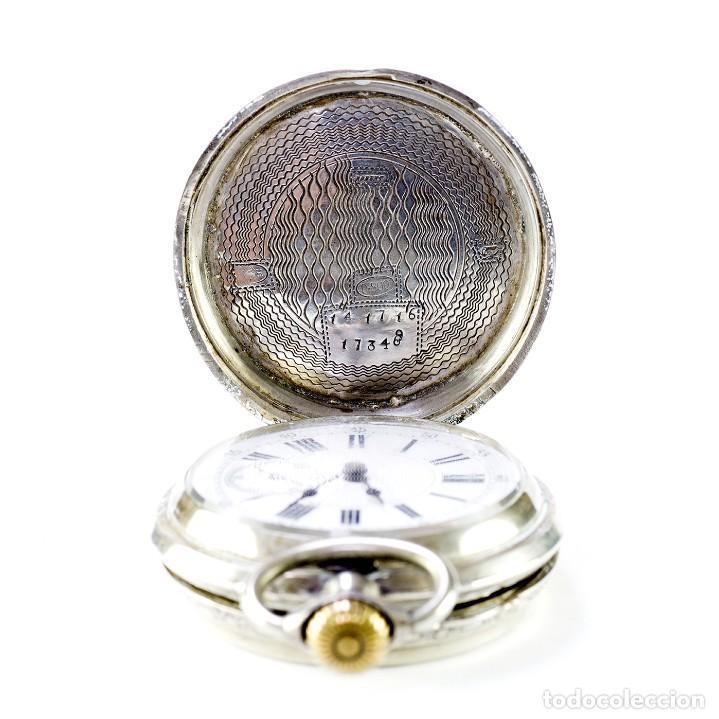 Relojes de bolsillo: ROBERT. Reloj de bolsillo, saboneta y remontoir. Suiza, ca. 1825 - Foto 5 - 195162336
