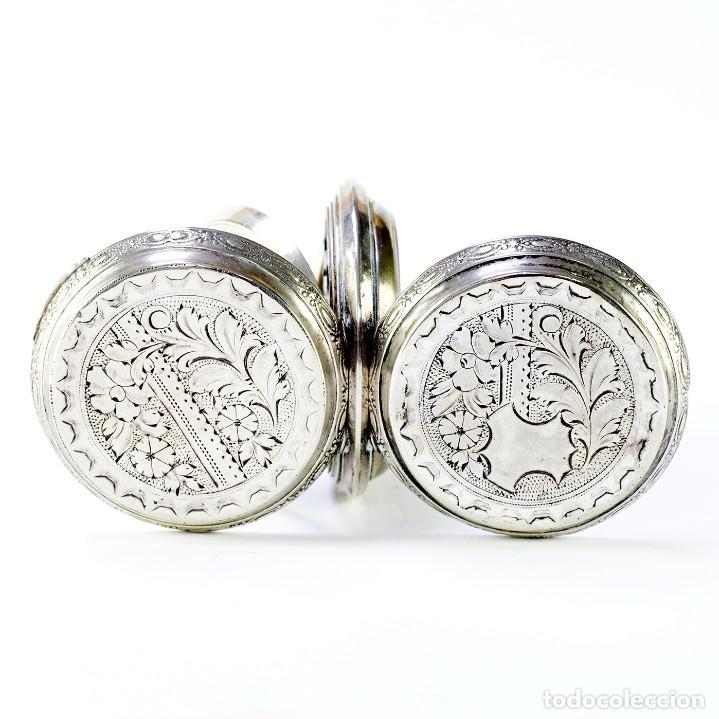 Relojes de bolsillo: ROBERT. Reloj de bolsillo, saboneta y remontoir. Suiza, ca. 1825 - Foto 6 - 195162336