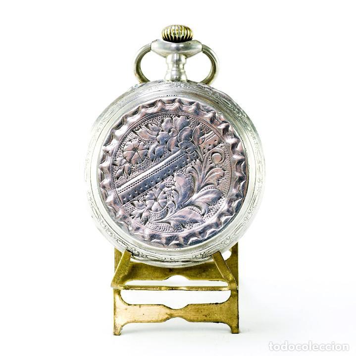 Relojes de bolsillo: ROBERT. Reloj de bolsillo, saboneta y remontoir. Suiza, ca. 1825 - Foto 7 - 195162336