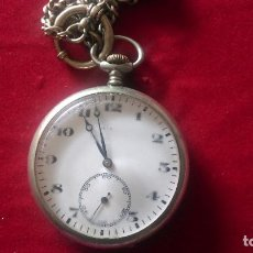 Relojes de bolsillo: AB.- 903.- RELOJ DE BOLSILLO, CON CADENA .- MYSTERIA, NO FUNCIONA , DIAMETRO 5.- CM , CON TIJA- 6.- . Lote 195203847