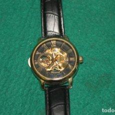 Relojes de bolsillo: RELOJ DE PULSERA ESQUELETO, CARGA MANUAL (D10). Lote 195263250
