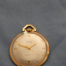 Relojes de bolsillo: RELOJ BOLSILLO DE CUERDA MANUAL. Lote 195268540