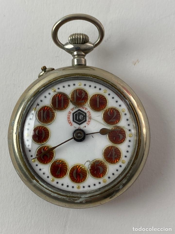 RE-32. RELOJ DE BOLSILLO ARTHUR ROSKOPF. S.XIX. (Relojes - Bolsillo Carga Manual)