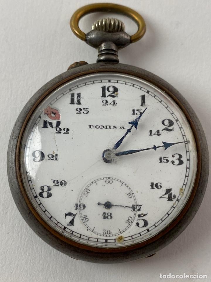 RE-33. RELOJ DE BOLSILLO DOMINA. PRINCIPIOS S.XX. (Relojes - Bolsillo Carga Manual)