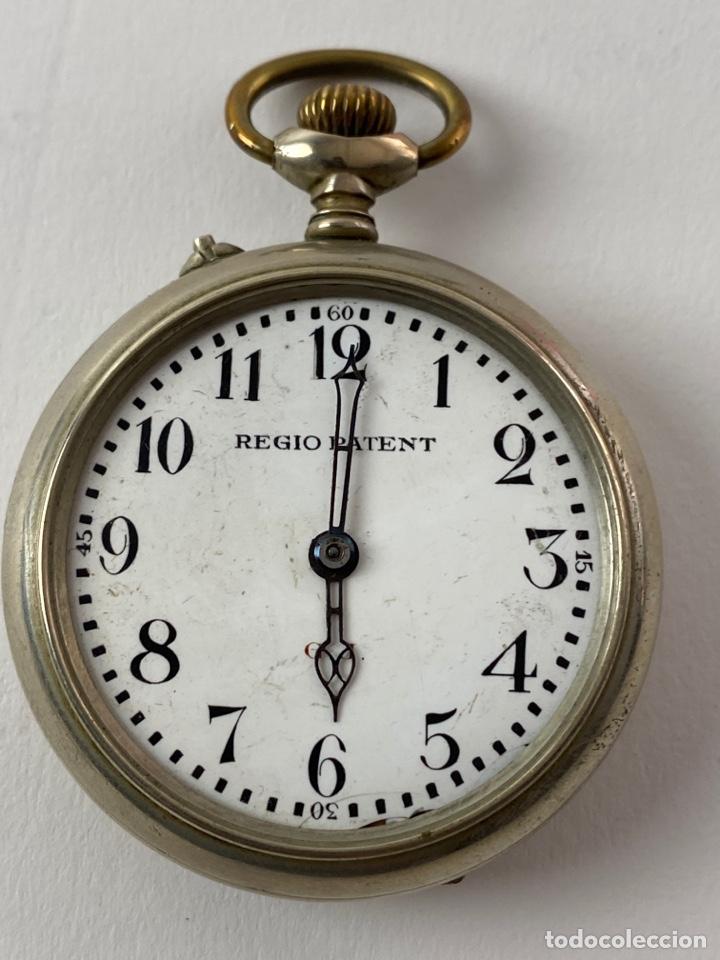 RE-34. RELOJ DE BOLSILLO DE CARGA MANUAL. REGIO PATENT. PRINCIPIOS S .XX. (Relojes - Bolsillo Carga Manual)