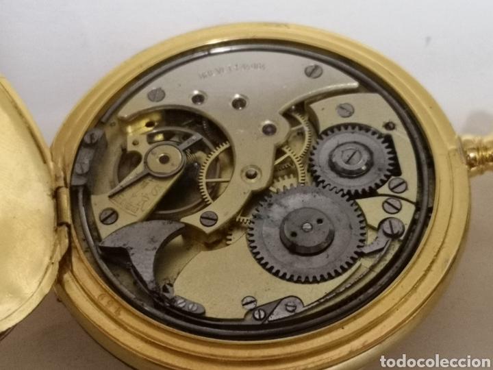 Relojes de bolsillo: Antiguo reloj de soneria chronometer repetición de 1898/1900 - Foto 8 - 195347137