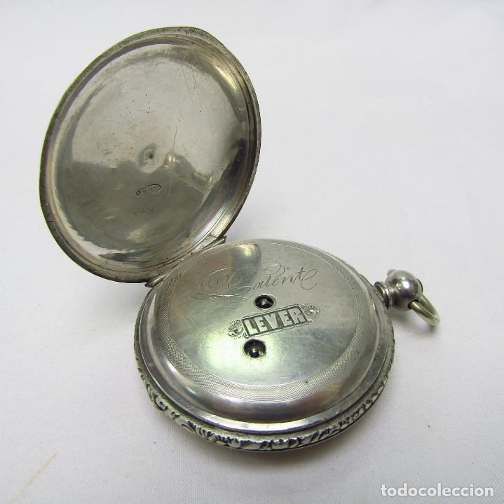Relojes de bolsillo: ROBT. ROSKELL (Liverpool).Reloj de Bolsillo, saboneta. Londres, ca. 1830. - Foto 12 - 195357973