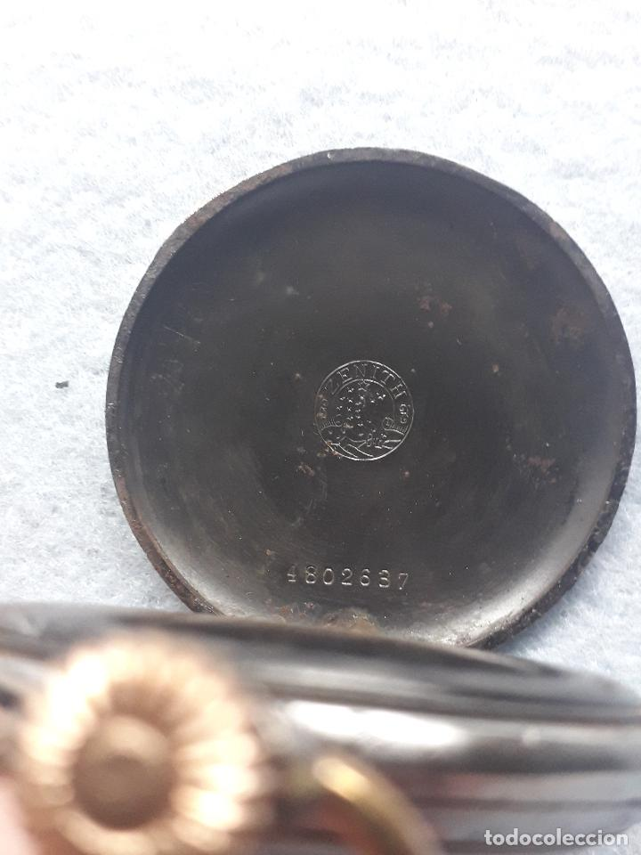 Relojes de bolsillo: Reloj de Bolsillo Antiguo Marca Zenith - Foto 4 - 195377638