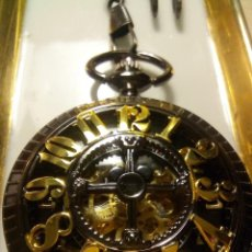 Relojes de bolsillo: RELOJ BOLSILLO AUTOMATICO. Lote 195403055