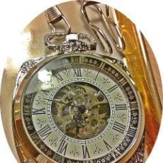 Relojes de bolsillo: ELEGANTE RELOJ DE BOLSILLO CUADRADO.. Lote 195417055