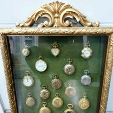 Relojes de bolsillo: LOTE 18 RELOJES DE BOLSILLO COLECCION CONJUNTO RELOJ. Lote 195461112