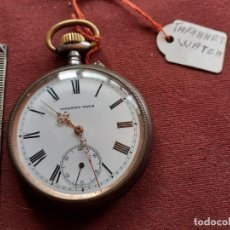 Relojes de bolsillo: TAVANNES. EXCELENTE RELOJ. MUY BUENA PRESENCIA. EN FUNCIONAMIENTO. Lote 195479612