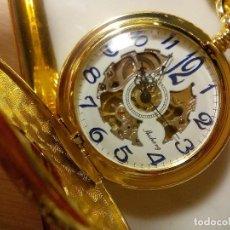 Relojes de bolsillo: RELOJ BOLSILLO 4 TAPAS. Lote 195486273