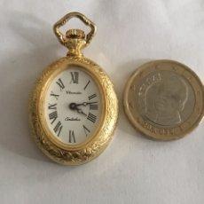Relojes de bolsillo: MINI RELOJ THERMIDOR DE BOLSILLO. REF: SEIKO LONGINES ROLEX OMEGA CYMA. Lote 195496508