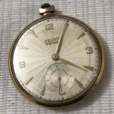 Relojes de bolsillo: RELOJ CAUNY PRIMA AUTOMÁTICA DE BOLSILLO. Lote 195511346