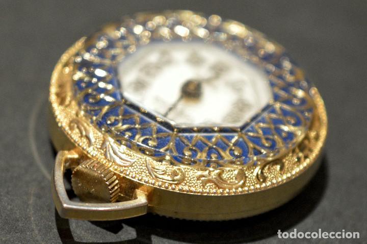 Relojes de bolsillo: RELOJ SUIZO DE BOLSILLO O COLGANTE CARGA MANUAL MARCA LUCERNE SWISS MADE - Foto 10 - 195658645