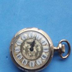 Relojes de bolsillo: RELOJ DE BOLSILLO MARCA THERMIDOR. CHAPADO EN ORO.. Lote 196030930