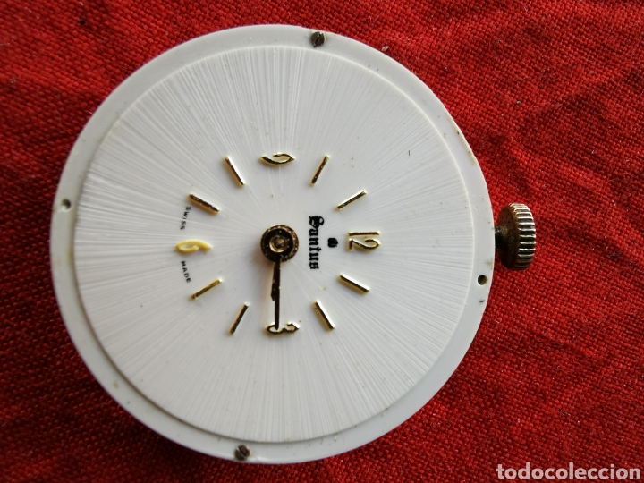 Relojes de bolsillo: Reloj de bolsillo suizo Santus.años 60 - Foto 3 - 196140925