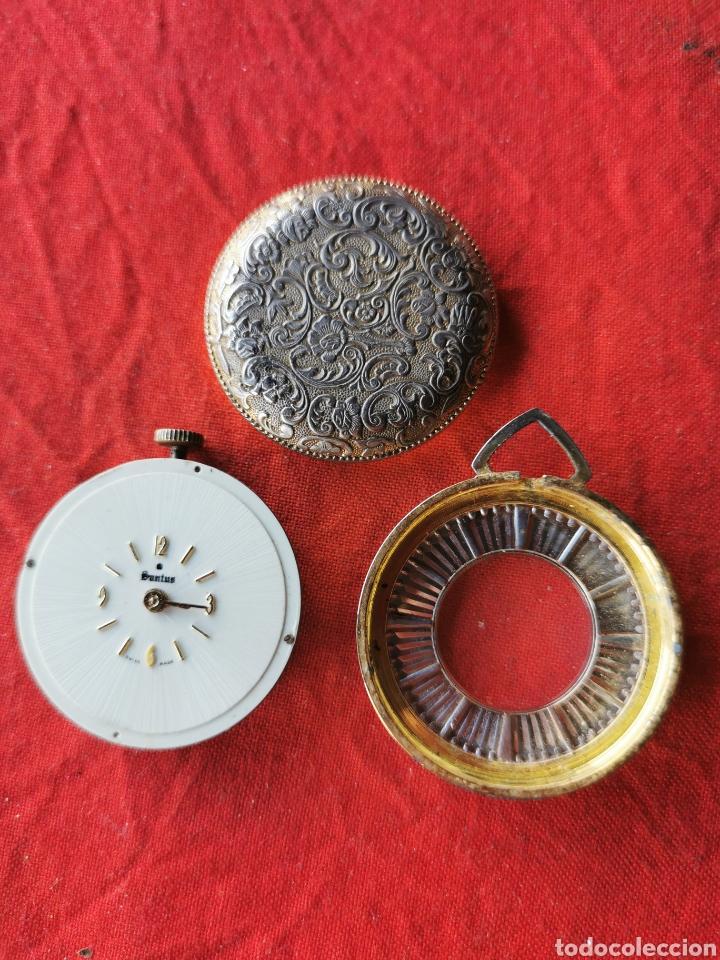 Relojes de bolsillo: Reloj de bolsillo suizo Santus.años 60 - Foto 5 - 196140925