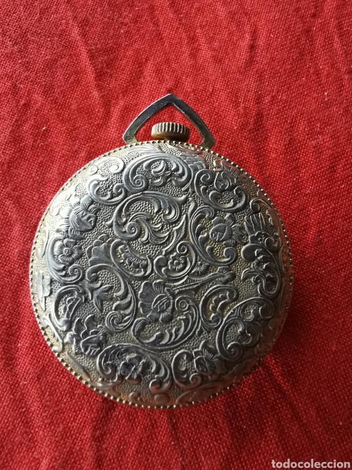 Relojes de bolsillo: Reloj de bolsillo suizo Santus.años 60 - Foto 6 - 196140925