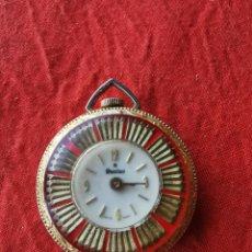Relojes de bolsillo: RELOJ DE BOLSILLO SUIZO SANTUS.AÑOS 60. Lote 196140925