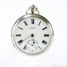 Relojes de bolsillo: E. MEYER. RELOJ DE BOLSILLO INGLÉS, LEPINE, HALF FUSEE (SEMICATALINO). CHESTER, 1904.. Lote 196141378