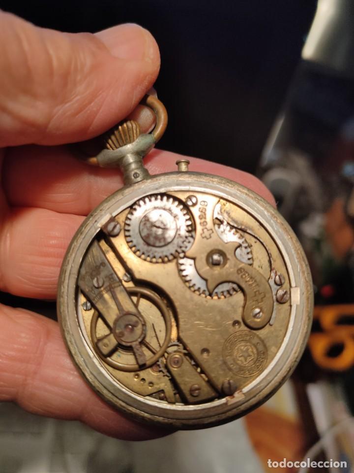 Relojes de bolsillo: RELOJ CUERVO Y SOBRINOS HABANA DESCACHARRADO - Foto 5 - 160492306
