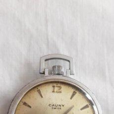 Orologi da taschino: 16-RELOJ BOLSILLO LEPINE CAUNY, 17 RUBÍS, ANTICHOC,FUNCIONANDO.. Lote 196292782