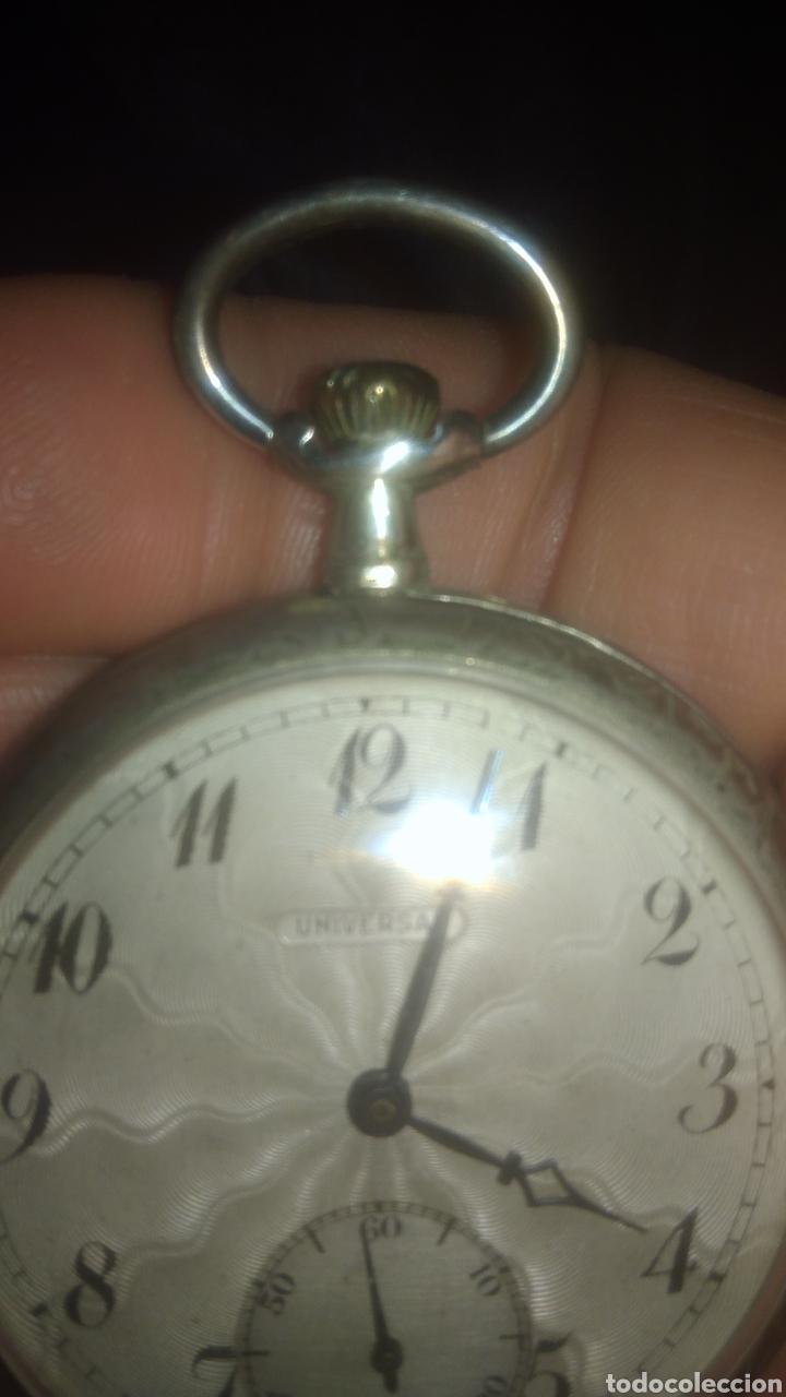Relojes de bolsillo: RELOJ UNIVERSAL. FUNCIONA PERFECTAMENTE. VER FOTOS. - Foto 4 - 197374358