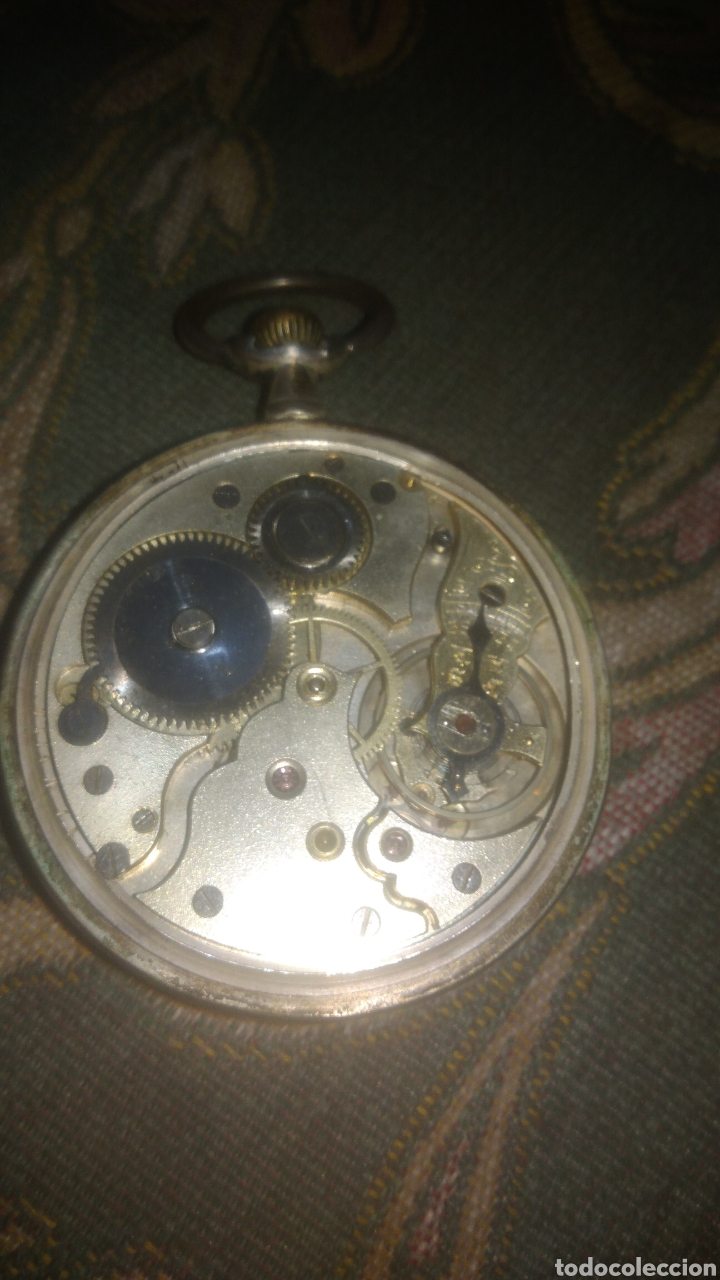 Relojes de bolsillo: RELOJ UNIVERSAL. FUNCIONA PERFECTAMENTE. VER FOTOS. - Foto 5 - 197374358