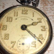 Relojes de bolsillo: RELOJ DE BOLSILLO ENTERO PERO NO FUNCIONA SOMPLON. Lote 198456453