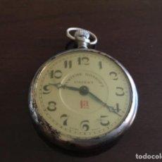 Relojes de bolsillo: ANTIGUO RELOJ DE BOLSILLO NO FUNCIONA . Lote 198518718