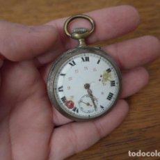 Relojes de bolsillo: ANTIGUO RELOJ DE BOLSILLO, A RESTAURAR. ORIGINAL.. Lote 198764661