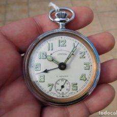 Relojes de bolsillo: RELOJ DE BOLSILLO ANTIGUO CON DESPERTADOR AÑO 1920 APROX.. Lote 199035880