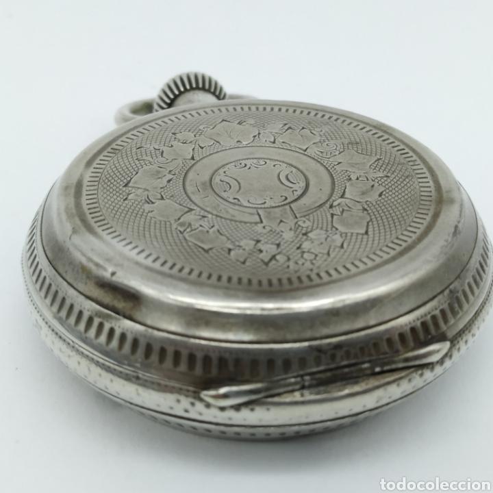 Relojes de bolsillo: PAUL JEANNOT - Reloj de 4 tapas - 1894. 15 rubíes. Ginebra Suiza - Para reparar - Foto 10 - 199037875