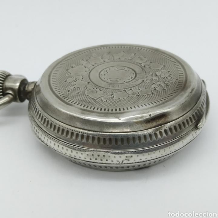 Relojes de bolsillo: PAUL JEANNOT - Reloj de 4 tapas - 1894. 15 rubíes. Ginebra Suiza - Para reparar - Foto 11 - 199037875
