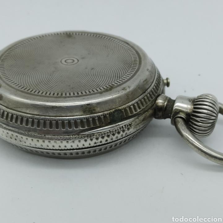Relojes de bolsillo: PAUL JEANNOT - Reloj de 4 tapas - 1894. 15 rubíes. Ginebra Suiza - Para reparar - Foto 14 - 199037875