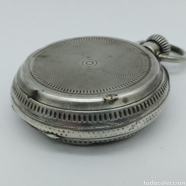 Relojes de bolsillo: PAUL JEANNOT - Reloj de 4 tapas - 1894. 15 rubíes. Ginebra Suiza - Para reparar - Foto 15 - 199037875