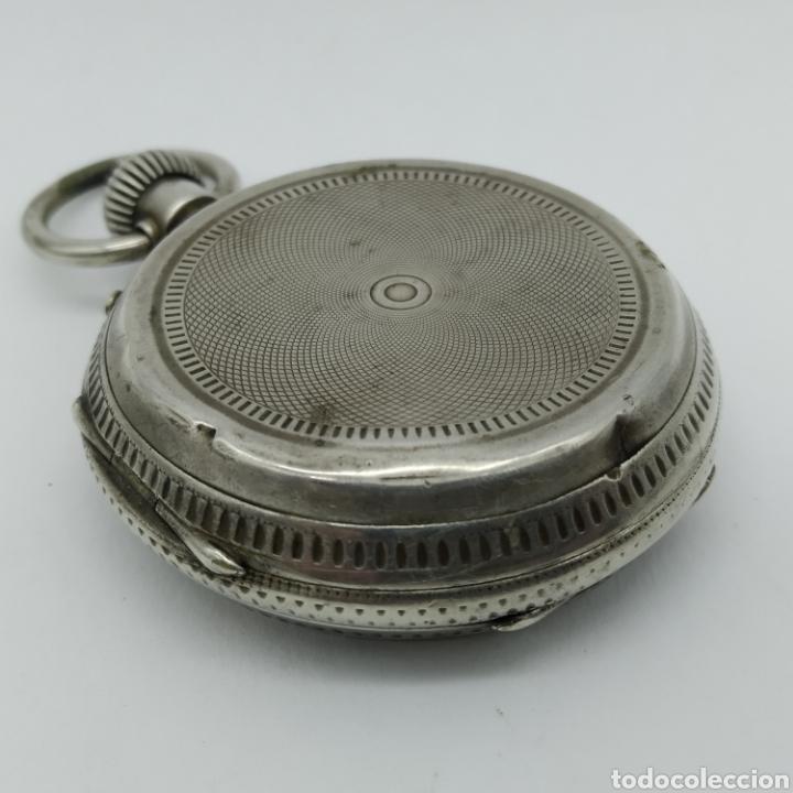 Relojes de bolsillo: PAUL JEANNOT - Reloj de 4 tapas - 1894. 15 rubíes. Ginebra Suiza - Para reparar - Foto 17 - 199037875