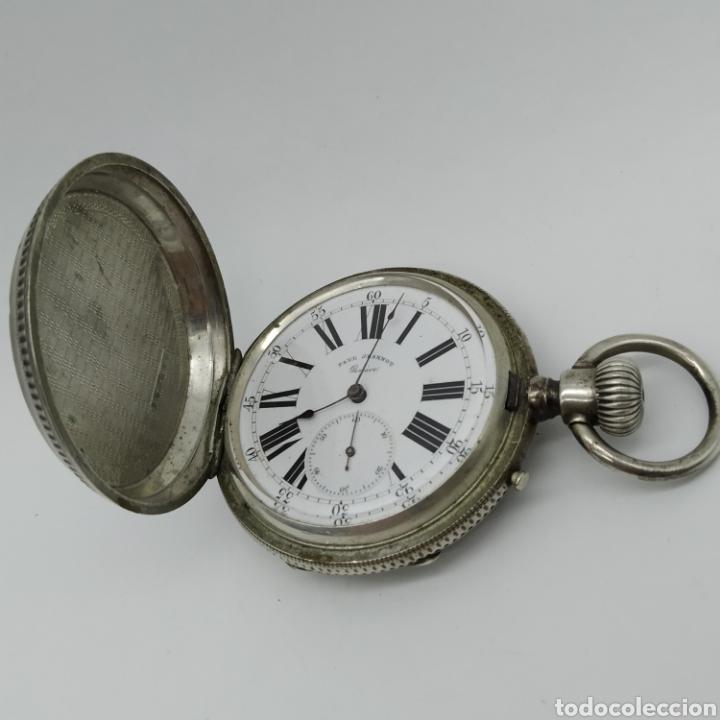 Relojes de bolsillo: PAUL JEANNOT - Reloj de 4 tapas - 1894. 15 rubíes. Ginebra Suiza - Para reparar - Foto 23 - 199037875