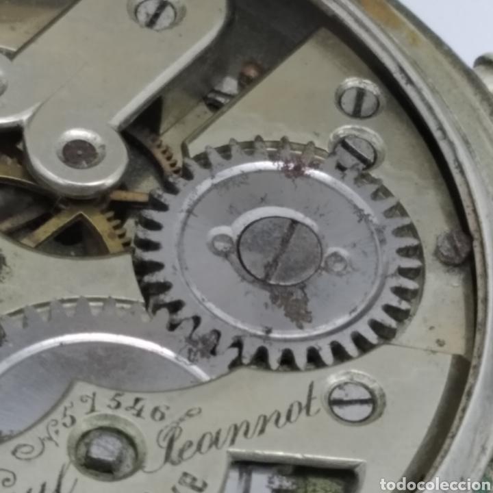 Relojes de bolsillo: PAUL JEANNOT - Reloj de 4 tapas - 1894. 15 rubíes. Ginebra Suiza - Para reparar - Foto 19 - 199037875