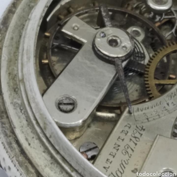 Relojes de bolsillo: PAUL JEANNOT - Reloj de 4 tapas - 1894. 15 rubíes. Ginebra Suiza - Para reparar - Foto 22 - 199037875