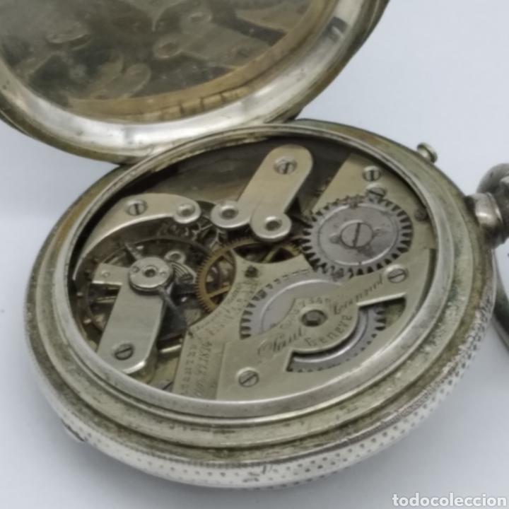 Relojes de bolsillo: PAUL JEANNOT - Reloj de 4 tapas - 1894. 15 rubíes. Ginebra Suiza - Para reparar - Foto 3 - 199037875