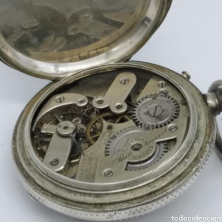 Relojes de bolsillo: PAUL JEANNOT - Reloj de 4 tapas - 1894. 15 rubíes. Ginebra Suiza - Para reparar - Foto 25 - 199037875